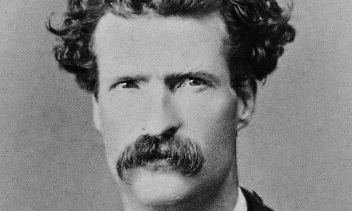 Mark Twain, photographie des Abdullah Frères, 1867 - source : WikiCommons/Library of Congress